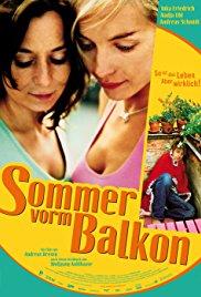 Sommer vorm Balkon 2005