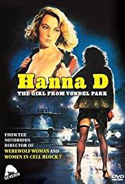 Hanna D. - La ragazza del Vondel Park 1984